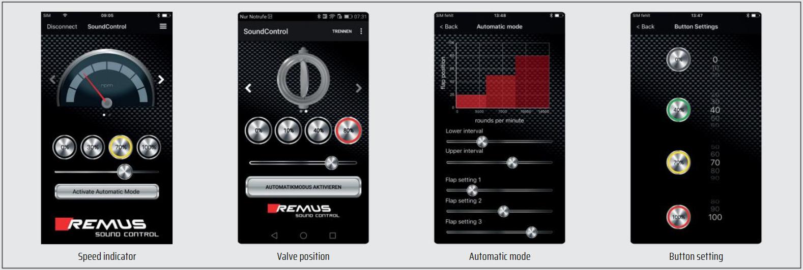 Remus Sound Control App